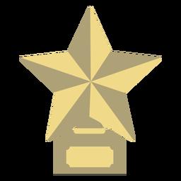 Prêmio troféu estrela primeiro apartamento