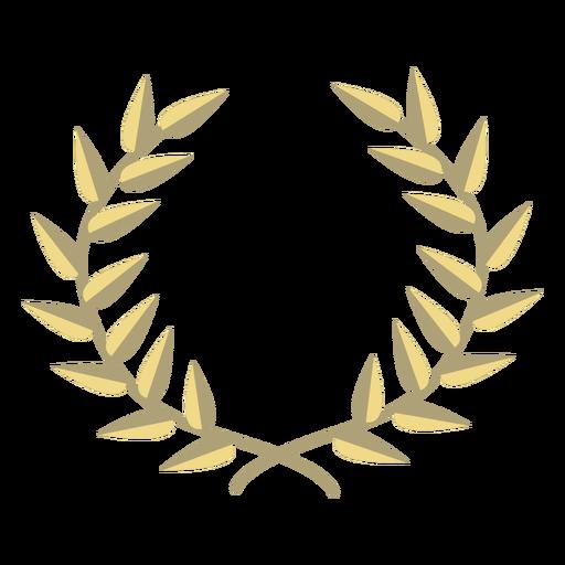 Grinalda de prêmio plana