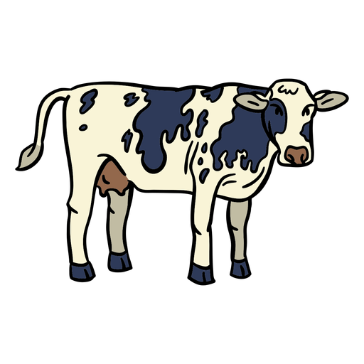 Cow hand drawn Transparent PNG