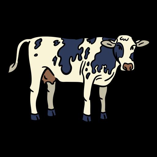 Cow hand drawn