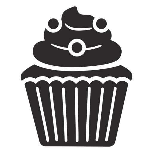 Cupcake candy swirl topping Transparent PNG
