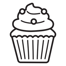Cupcake-Bonbon-Strudelstrich