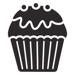 Cupcake Glasur Süßigkeiten Belag