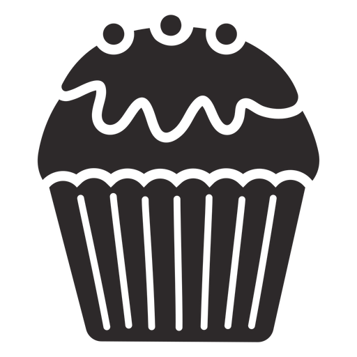 Cupcake glaze candy topping Transparent PNG