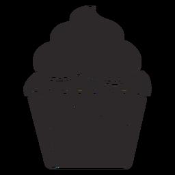 Cupcake-Streusel wirbeln