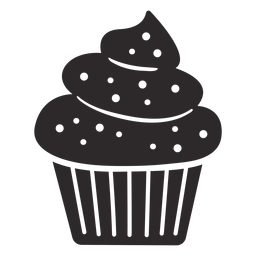 Cupcake sprinkles swirl topping large