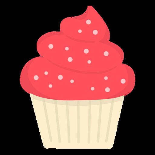 Cupcake sprinkles swirl topping large flat
