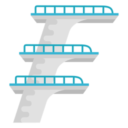 Diving boards multiple flat