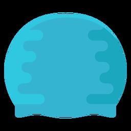 Gorro de piscina de buceo plano