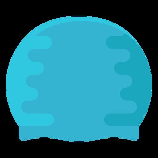 Diving pool cap flat