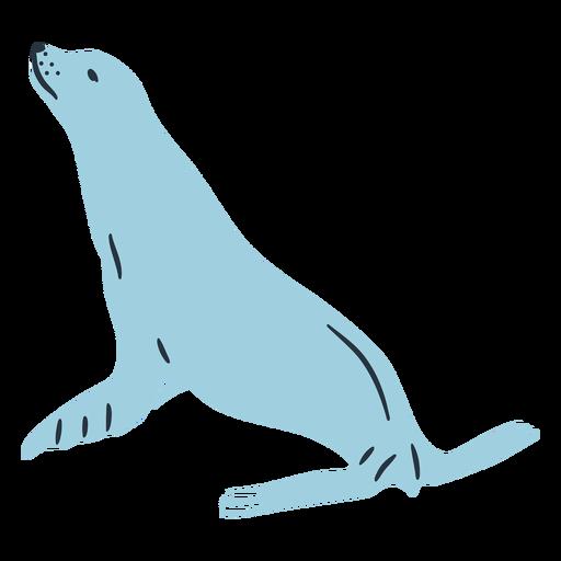 Ilustración de sello de Doodle Transparent PNG