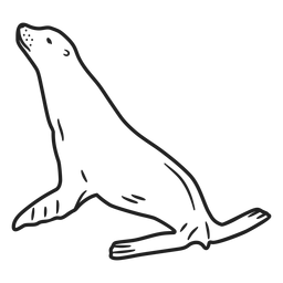 Doodle seal stroke