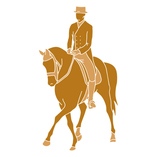 Equestrian side pass left