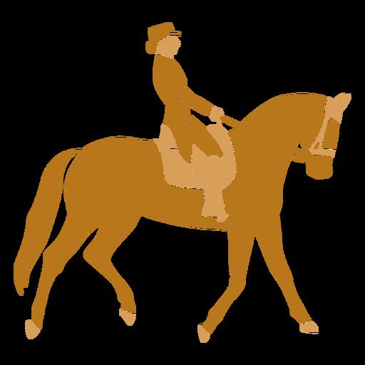 Equestrian walking