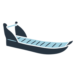Ilustración de trineo esquimal doodle