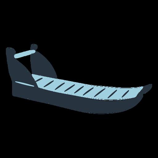 Ilustración de trineo esquimal doodle Transparent PNG