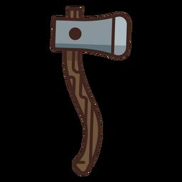 Icono de hacha de leñador