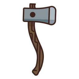 Lumberjack axe icon