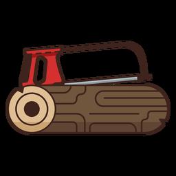 Lumberjack saw single icon