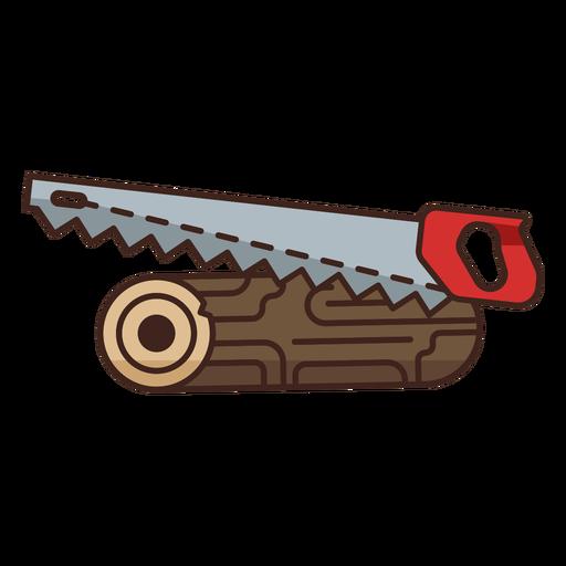 Lumberjack saw single heavy icon