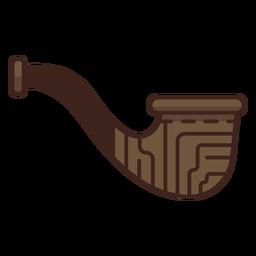 Icono de tubo de madera de leñador