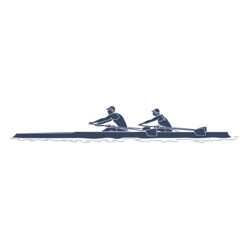 Rowing pair left
