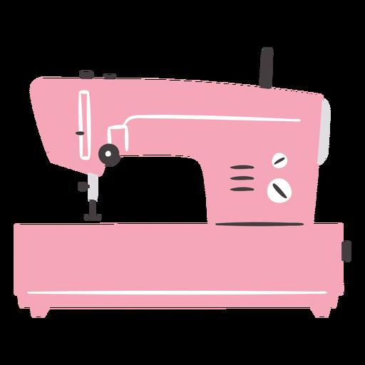Máquina de coser plana eléctrica moderna