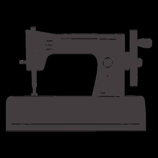 Manual moderno de la máquina de coser