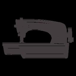 Máquina de coser moderna elegante manual