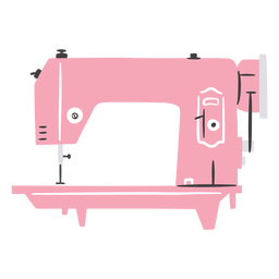 Sewing machine vintage flat