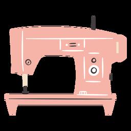 Máquina de coser vintage eléctrica plana