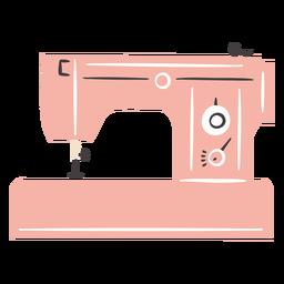 Máquina de coser vintage manual plana