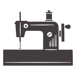 Máquina de coser vintage carrete manual