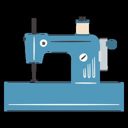 Máquina de coser vintage carrete manual plano