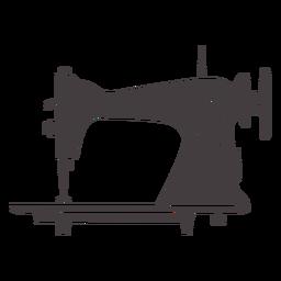 Máquina de coser vintage manual elegante