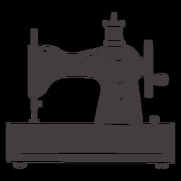 Máquina de coser vintage manual pequeña