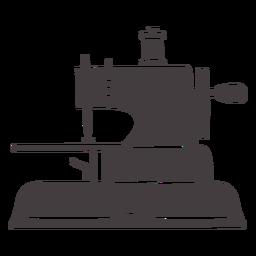 Máquina de coser vintage pequeña
