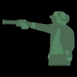 Shooting lady pistol