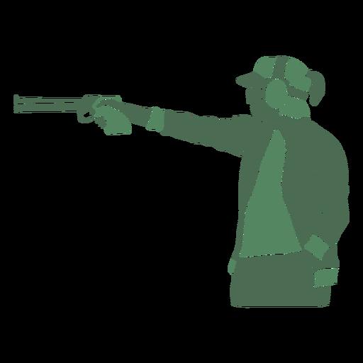 Pistola de dama de tiro