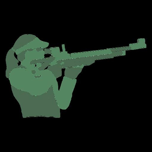 Rifle de dama de tiro