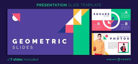 Abstract Geometric Presentation Template