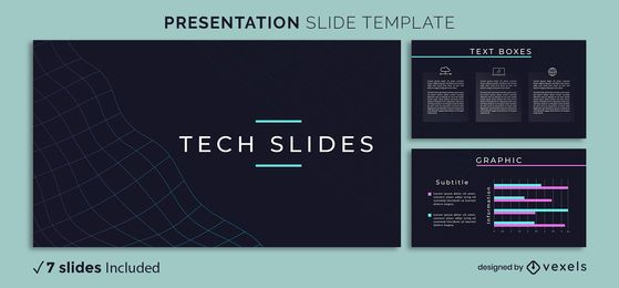 Abstract Tech Presentation Template