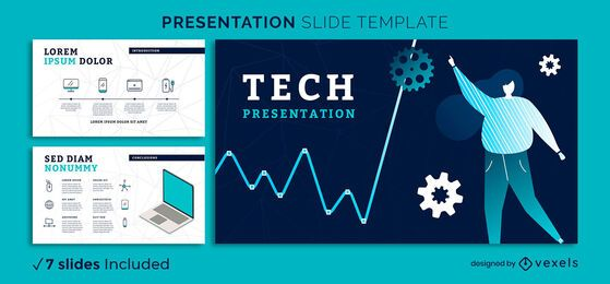 Modern Tech Presentation Template