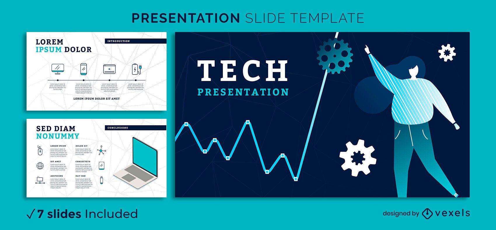 Modern Tech Presentation Template