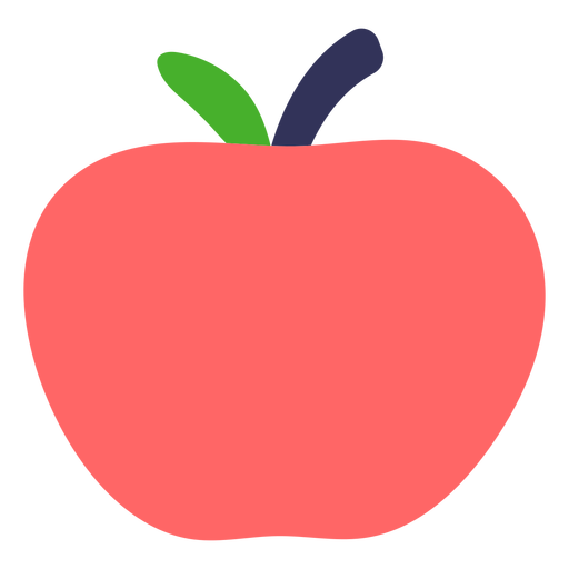 Apple flat Transparent PNG
