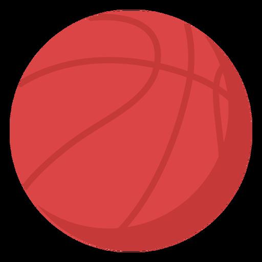 Basketball ball flat Transparent PNG