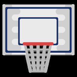Canasta de baloncesto plana