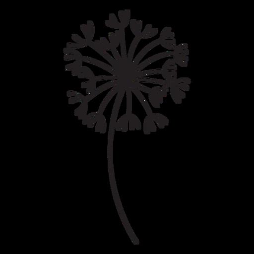 Dandelion buds multiple variety stroke