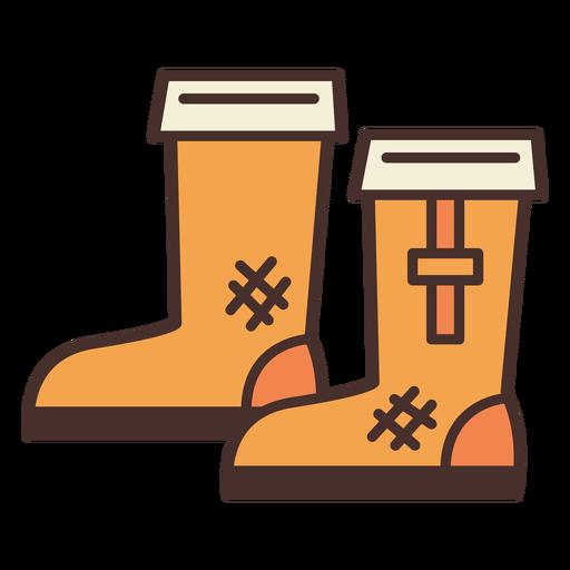 Botas de icono de botas de granja Transparent PNG