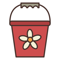 Farm bucket icon